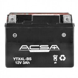 YTX4L-BS BATTERIES motos- scooters