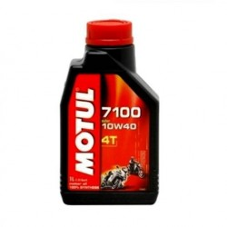Huile MOTUL 4T synthese 10w40 moto LUBRIFIANTS motos- scooters
