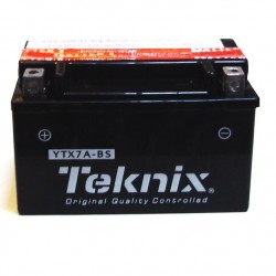 YTX7A-BS / 12V6Ah BATTERIES motos- scooters